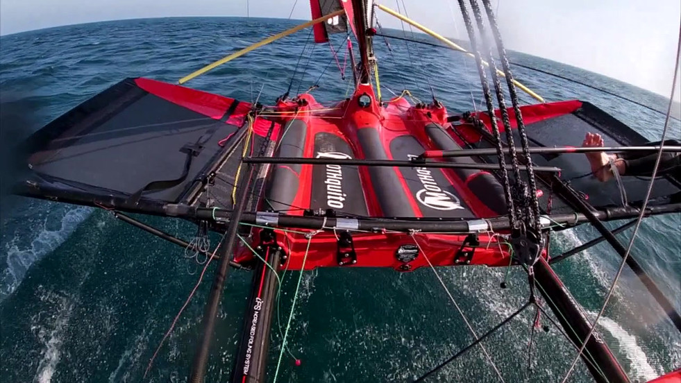 MOTHQUITO IFS FOILING Tests Phase Rider: Alejandro Hernández Rojas