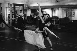 'Cinderella' - rehearsals Matthew Bourne