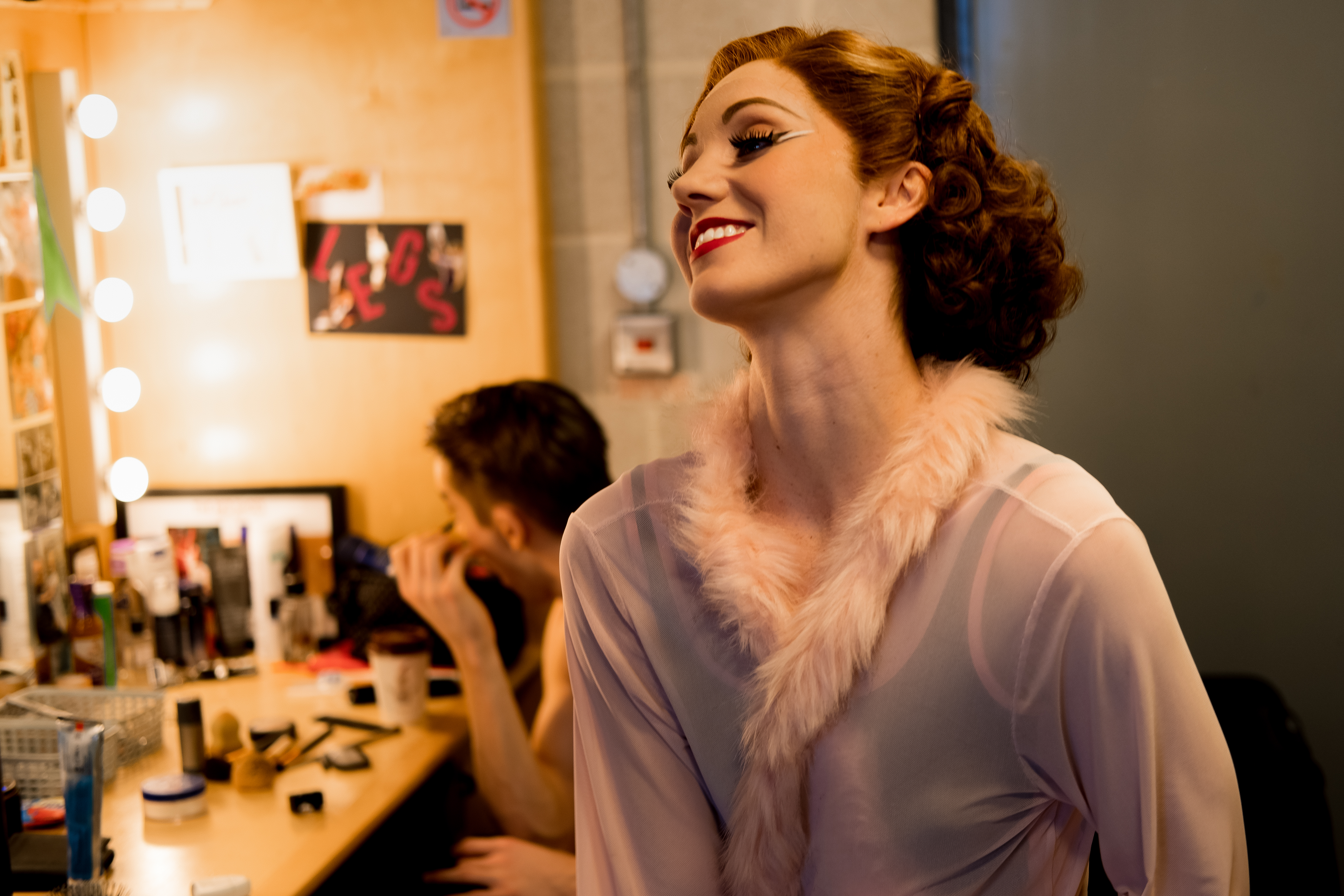 'The Red Shoes' - Backstage MB