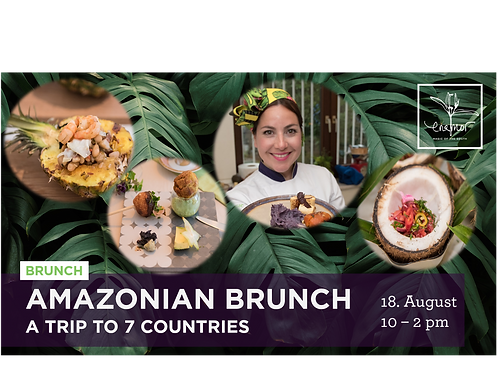 Amazonian brunch - A trip to 7 countries