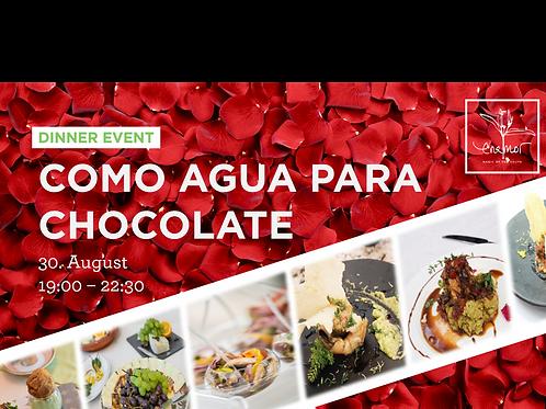 Dinner event - Como agua para chocolate