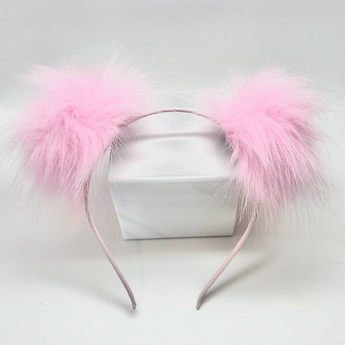 Double Pom Pom Headbands