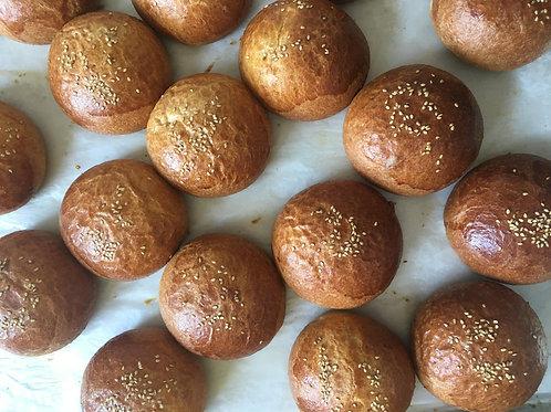 Hamburger Buns (6)
