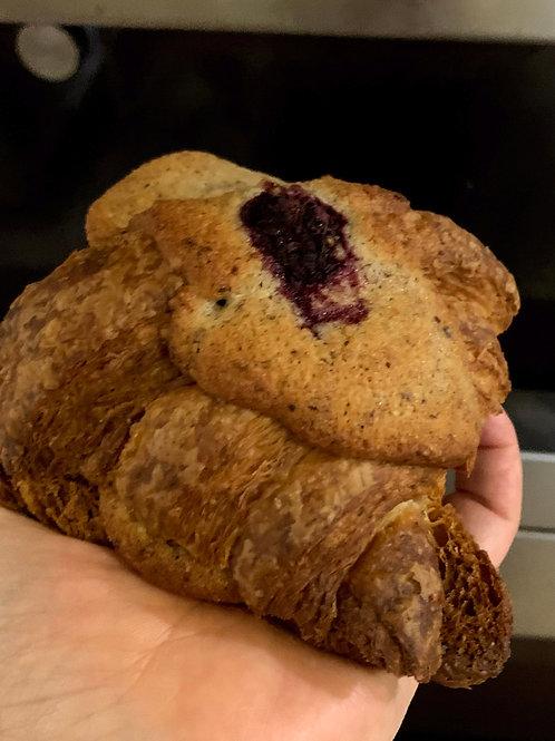 Raspberry Hazelnut Frangipan Croissant (2)