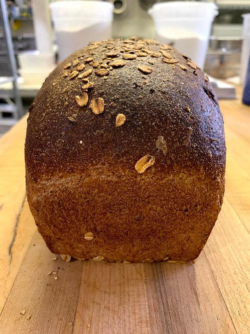 Oatmeal Spelt Honey Sandwich Bread