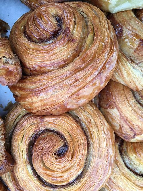 Cinnamon Snail Croissant