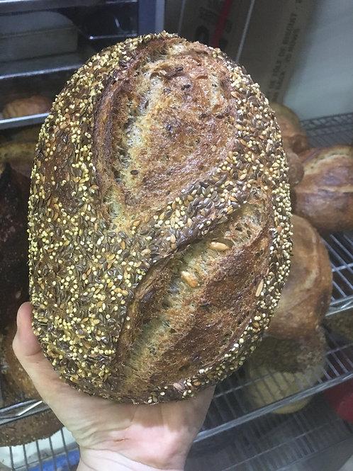 80% Whole Grain Multigrain Sourdough
