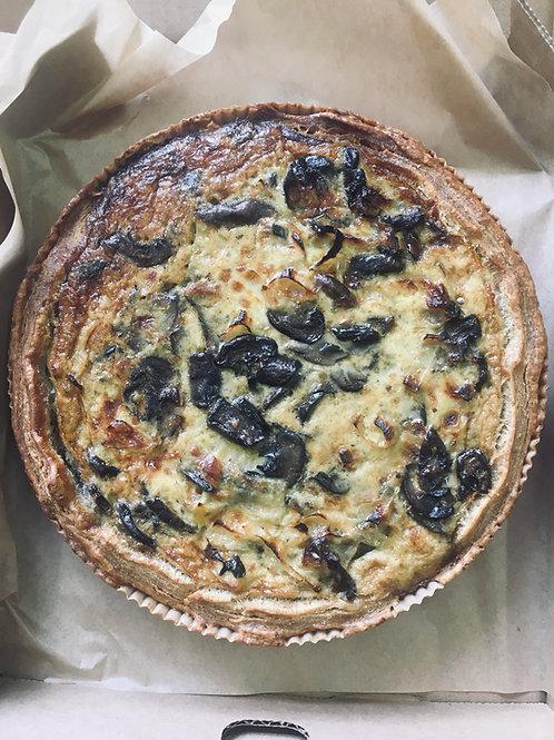 Mushroom Onion Tart (2)