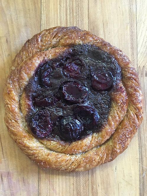 Cherry and Chocolate Pastry Cream Danish (2)