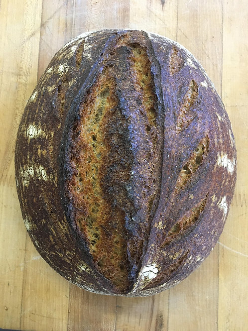 100% Fresh Milled Miche Sourdough