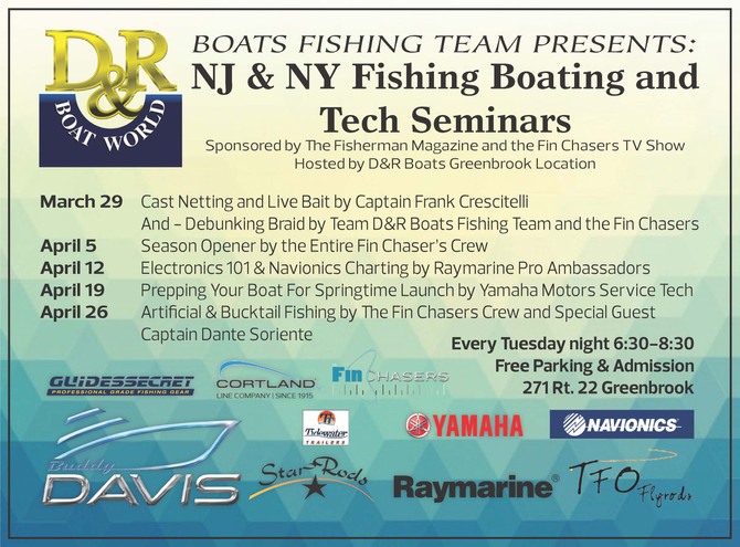 The Fin Chasers Seminar Series