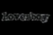 Loverboy Logo black transparent backgrou