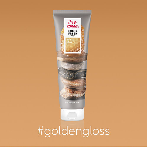 Wella Professionals - Colour Fresh Mask - Golden Glow