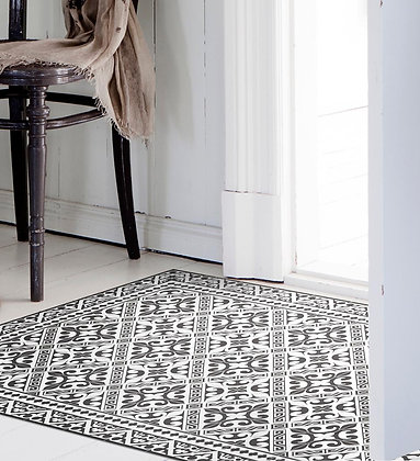 Vinyl Floor Mat - Flor de lis