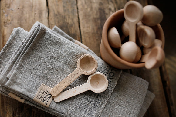 Wooden Scoop Spoon