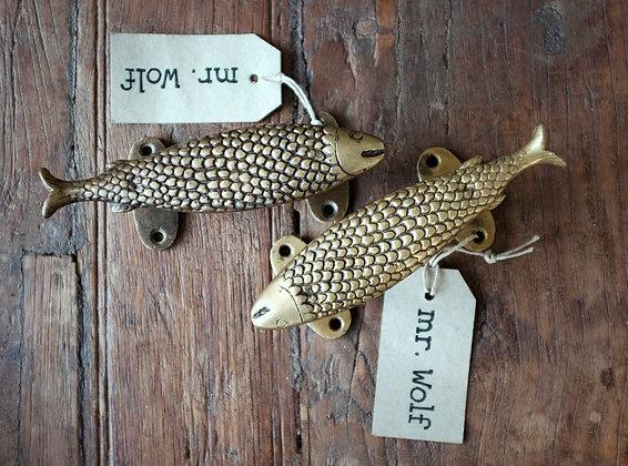 Brass Fish Door Pull