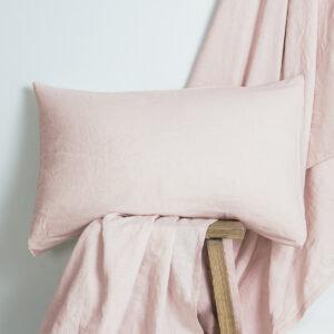 Blush Linen Fitted Sheet