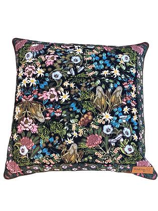 Wandering Folk Wildflower Cushion Cover