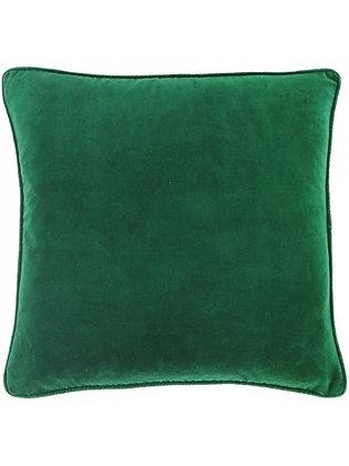 Large Emerald Green Velvet Cushion Cover