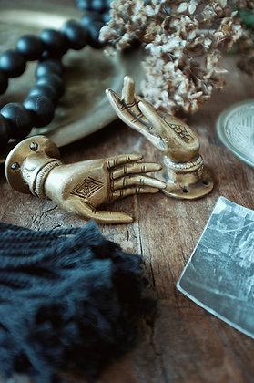 Small Brass Mudra Hand