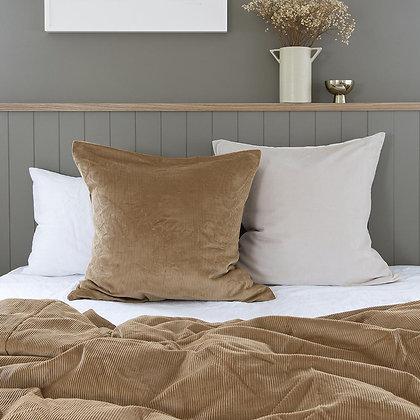 Butterscotch Corduroy Euro Pillowcase
