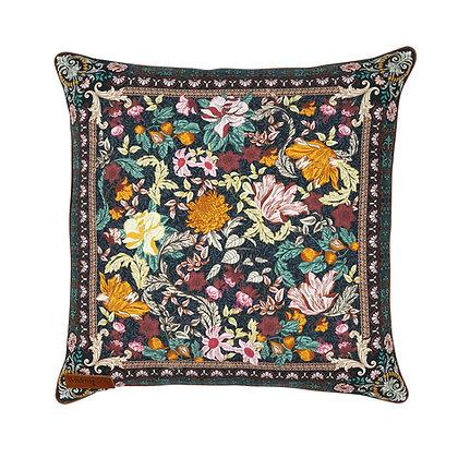 Wandering Folk - Emerald Forest Cushion Cover