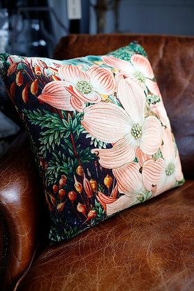 Exotic Garden Velvet Cushion