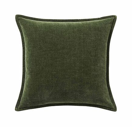 Vintage Velvet Forest Cushion Cover