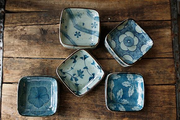 Indigo Ceramic Dish