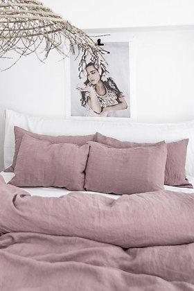 Magic Linen Pillowcase Set - Woodrose