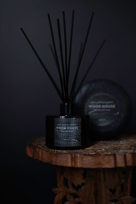 Black Wood House Diffuser
