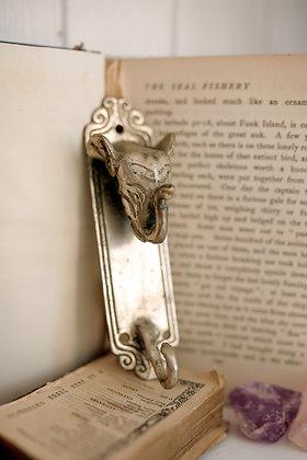 Silver Elephant Wall Hook