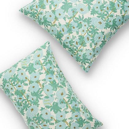 Society of Wanderers Joans Floral Pillowcase Set