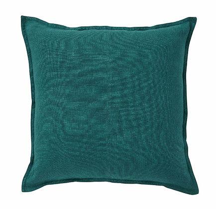 Teal Linen Cushion