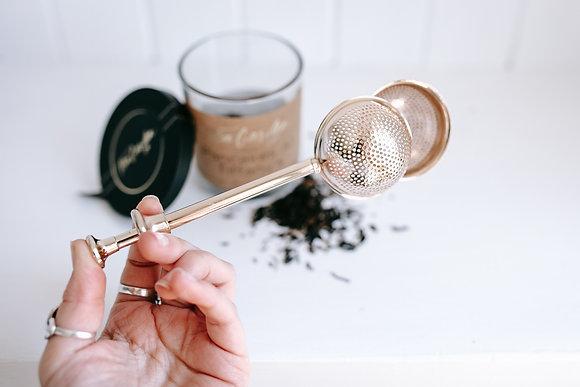 Copper Tea Strainer
