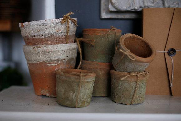 Rustic Terracotta Pots