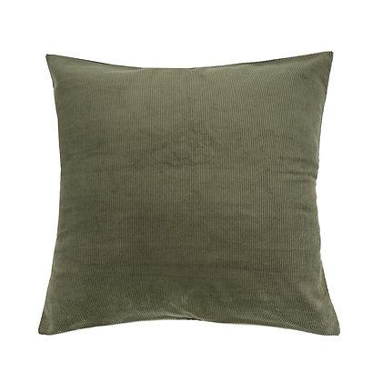 Olive Corduroy Euro Pillowcase