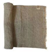 Rustic Raw Linen Table Runner (Raw Edge)