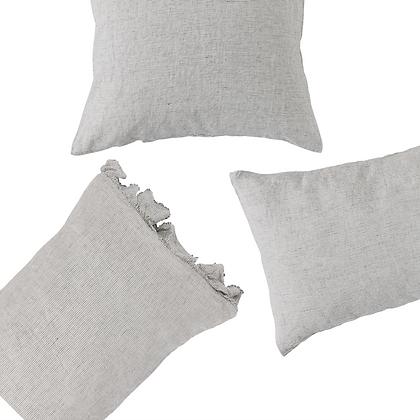 Pinstripe Linen Pillowcases