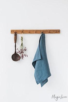 Magic Linen Tea Towel - Grey Blue