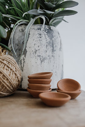 Terracotta Pinch Pot