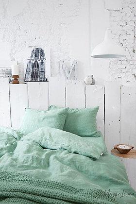 Magic Linen Sheet Set - Matcha Green
