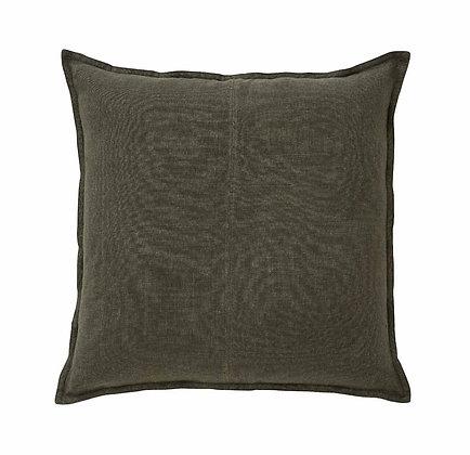Linen Khaki Cushion Cover