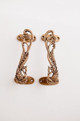 Brass Peacock Handles