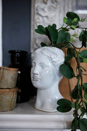 Julia Ceramic Bust Vase