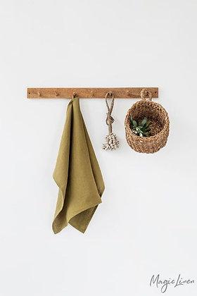 Magic Linen Tea Towel - Olive