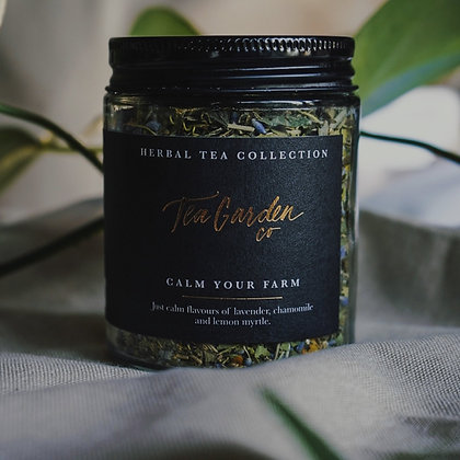 Tea Garden Lrg Jar