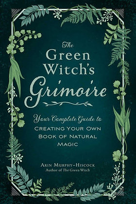 The Green Witch's Grimoire Book