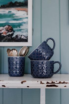 Indigo Ceramic Tumbler