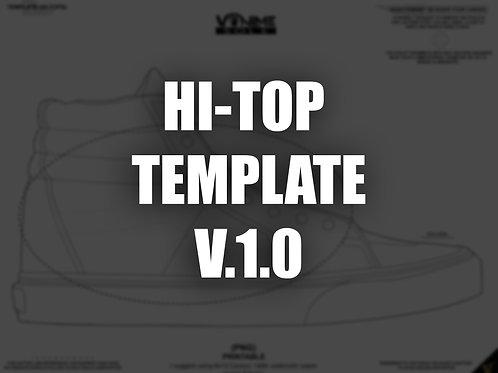 HI-TOPS TEMPLATE (PNG/PRINTABLE) V.1.0